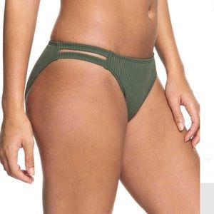 Roxy Bikini full bottoms goldy sand green
